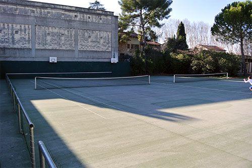 Infrastructures sportives creps montpellier for Longueur terrain de tennis
